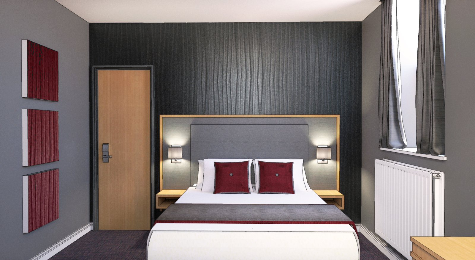 Ashorne Hill Hotel Bedroom Refurbishment Nearing Completion By Studio