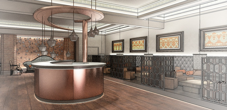 Bar Concept Nottingham Hotel Interior Designers