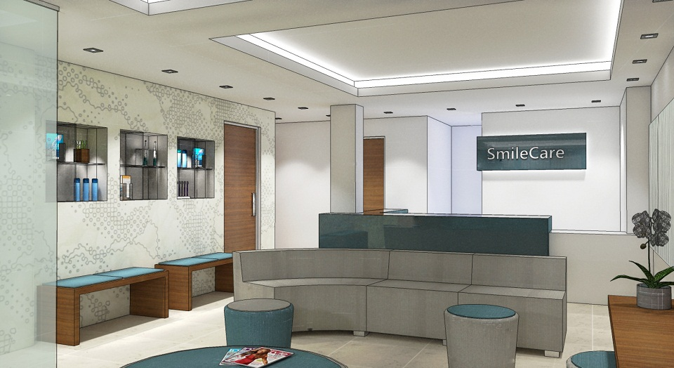 Dental clinics hotel interior designers birmingham for Dental clinic interior designs