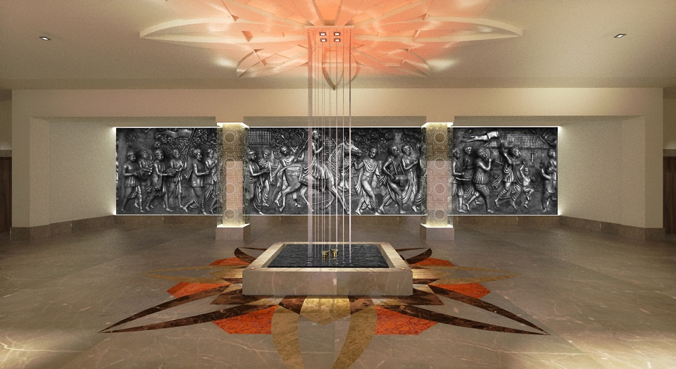 Hindu Temple Leicester Hotel Interior Designers Birmingham Interior Design Birmingham Uk