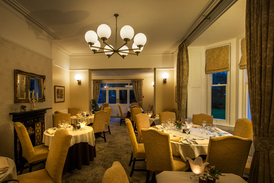 Pascal at the old vicarage restaurant interior design